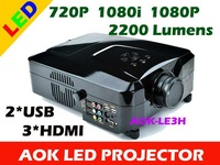 2200 Lumens Video LED Projector