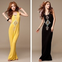 Free shipping Multicolour after long design vest evning dress 0205
