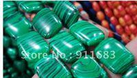 Wholesale 13x18mm Green Malachite  Loose