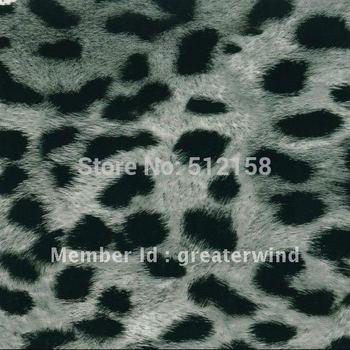 Hydrographic Animal Pattern films water transfer printing film Snow Leopard striae GW10810 width 100cm