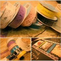 Creative lace tape hollow lace tape stickers