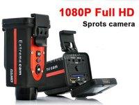 New 8GB 1080P Full HD digital sports video camera (1920x1080) for private car, bicykle, motobike, helmet free shipping
