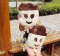 Birthday gifts cartoon face cream ice pop art lovers Doll Toy Plush Cushion / hold(China (Mainland))