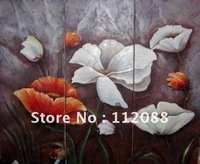 FREE SHIPPING!HIGH QUALITY!100% hand-painted Oil Painting on Canvas, Decoration flowers oil painting ,Oil Painting Wholesale