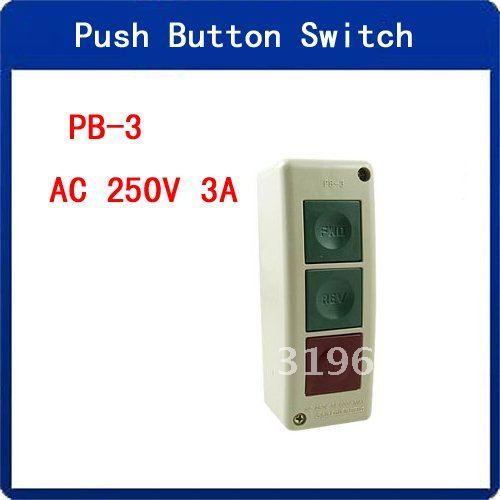 5pcs 250v Pwo Rev Off Push Button Switch Box For Electric