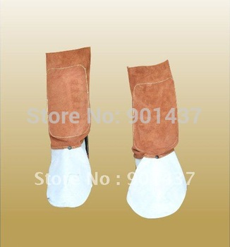 Let and Feet Protection Cap 100% Cow Leather for Welding Metallurgy