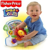 EMS Free shipping!Fisher Fisher - baby learning mode like price music steering wheel educational toys