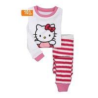 Пижама для мальчиков Wholesle 2012 New latest baby long sleeve pajamas 2pcs sets 6sizes:18-24/2/3/4/5y/6y