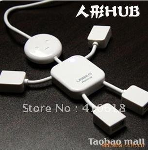 Lovely humanoid USB HUB/expansion USB2.0 / humanoid HUB points for a points/line of four hubs