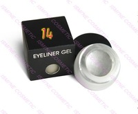 30 color to choose  free shipping  Water Proof Eye liner Gel Eyeliner Gel Brass #13