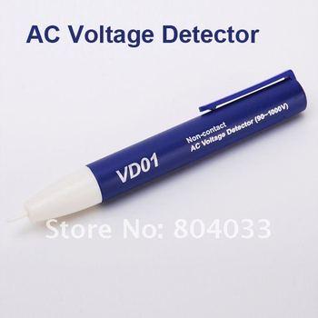 2pcs non-contact  AC Electric Voltage Detector Sensor Tester Pen Test Volt Range 90~1000V Drop shipping