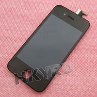 LCD Display Touch Digitizer Glass Screen Assembly for iPhone 4S 4GS Black  BA092