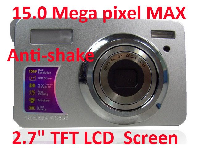 "Hot Sale HD Digital Camera,DC-L140T,14.0 megapixels CCD sensor+3.0"" TFT LCD Touch Screen +4XOptical Zoom+Free shipping"