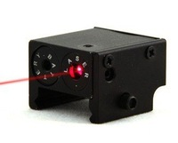Mini Square Red Laser Aim with Strobe Function fit Picatinny Mount free ship