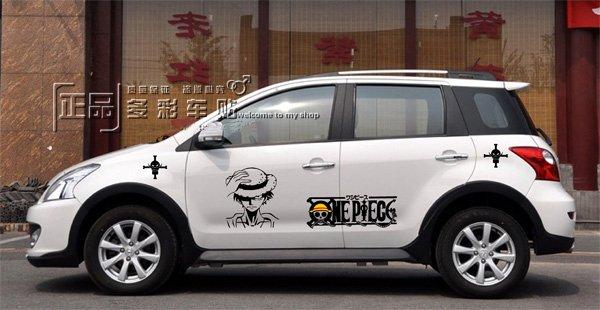 One Piece Car Sticker Malaysia One Piece Car Decals
