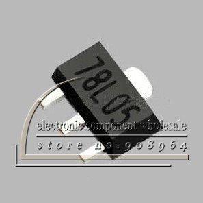 Wholesale-100pcs-lot-78L05-7805-5V-100MA-SMD-Voltage-Regulator-SOT-89.