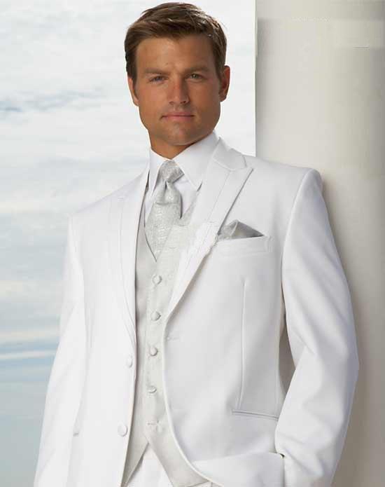 2012 New New font b Style b font Wedding font b Prom b font Men font The grooms white suit ... Elegance and bolder