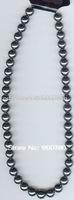[  ] Brazil Hematite (Magnetic) Gem Stone Beads Pendant Necklace 18inch
