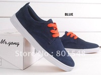Женские кеды Top quality low price Fashion thick sole ankle vulcanized canvas shoes two colors US size 5-8.5 #ML071