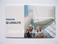 promotional gift !Customized 4GB Credit Cards USB business cards USB Flash Drive  DHL Free shipping