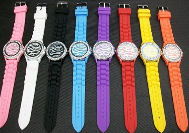 2012 hot 10PCS Women Girl Hello Kitty Watch slap snap on quartz silicone watch sports watches for gift FREE SHIPPING
