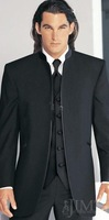 Groom Tuxedos Best man Suit Wedding Groomsman/Men Suits Bridegroom (Jacket+Pants+) E620 best