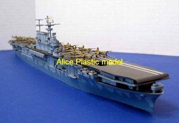 [Alice plasticmodel]1:700 WWII USS hornet CV-8 Nuclear-powered aircraft carrier battleship destroyer cruiser Frigate models