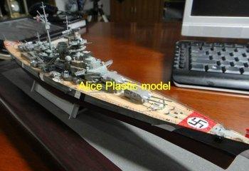 [Alice plasticmodel]1:700 WWII sms bismarck battleship destroyer cruiser aircraft carrier models
