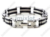Free shipping 8.3 inch Stainless Steel Man Bracelets Wholesale Fashion Jewelry