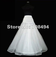 Free shipping new one size for all adjustable A-line one hoop bridal petticoat for the wedding dress accessory-perfect gowns