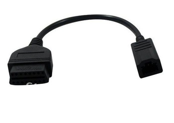 16 pin OBD2 Connector Adaptor Cable for Honda 3pin  free shipping -R