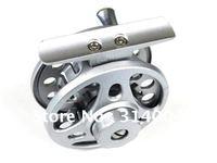 free shipping pure alloy fly fishing reels # 5/6 75mm Hand wheel Fish wheel swivel bearings
