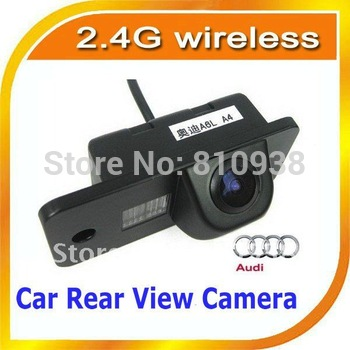 2.4G wireless Car rear view backup reversing Camera car parking camera for Audi A4L/A5  AUDI A6L/A4/Q7/A6