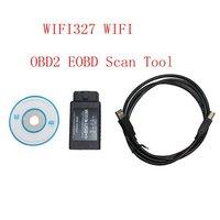 WIFI327 WIFI auto car USB OBD2 EOBD Scan Tool  free shipping