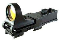 Black C-More Clone Red Dot Rifle Pistol Sight fits 20mm Standard Rail free ship