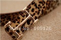 FREE SHIPPING Slide dress 2012 men Buckle real panther print Leopard grain Men's Belt  Casual buckle Leather Wholesale
