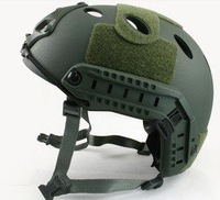 Fast Style Base Jump Helmet Navy Seal Carbon Shell OD Green free ship