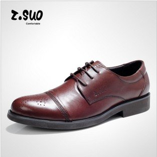 Fashion Men lacing up pointed toe cow leather shoe,formal suit office leather shoe,man dress wedding shoe,Brown,Black 39-44