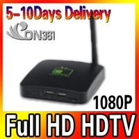 Free Shipping full HD HDTV Google Android 2.3 Inter TV Box A9 WIFI Media Player 1080P New 3pec/lot