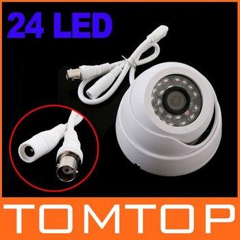 White 380TVL Indoor IR Security Surveillance CCTV IP Camera 1/3 CMOS PAL Freeshipping Dropshipping