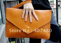 Wholesale retail day evening bag clutch shoulder bag  Handbag  vintage Designer Lady Fashion Envelope message 12 colors
