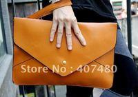 Wholesale retail day evening bag clutch shoulder bag  Handbag  vintage Designer Lady Fashion Envelope message 12 colors