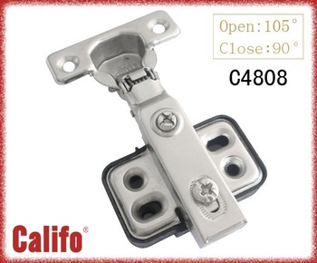 soft closing hinge/Cabinet 26mm cup  hinge with plastic plate