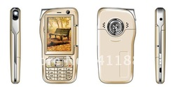2.4 Inch Screen with touch panel clam shell DV camera cell Phone(China (Mainland))