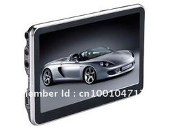 "5"" GPS Navigator SAT NAV New 3D Map SpeedCam(China (Mainland))"