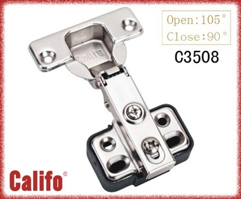 Cabinet 35mm cup  hinge with plastic plate/soft closing hinge