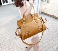 European Popular Fashion Women Lady Handbag PU Leather Bag Tote Hand Shoulder Bag