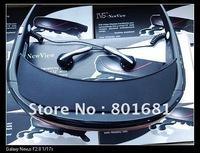 "Portable Eyewear 72"" 16:9 Widescreen Portable Multimedia Player  Video Glasses Virtual Theatre 4GB"