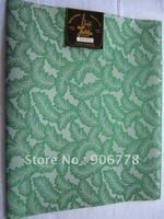 Free Shipping latest design african SEGO headties,High quality damask headtie,greencolor sego gele headtie wholesale