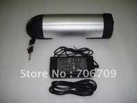 Free Shipping Wholesale Cheap 36V 10Ah Li-ion Water Kettle Battery with BMS Board, Charger For electric bike